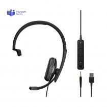 EPOS | Sennheiser ADAPT 135T USB II Monaural Headset - MS Teams & 3.5mm