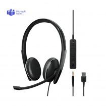 EPOS | Sennheiser ADAPT 165T USB II Stereo Headset - MS Teams & 3.5mm