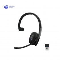 EPOS | Sennheiser ADAPT 230 Mono Bluetooth Headset + USB Dongle - MS Teams