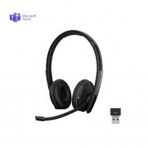 EPOS | Sennheiser ADAPT 260 Stereo Bluetooth Headset + USB Dongle - MS Teams