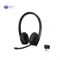 EPOS | Sennheiser ADAPT 261 Stereo Bluetooth Headset + USB-C Dongle - MS Teams