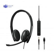 EPOS | Sennheiser ADAPT 165T USB-C II Stereo Headset - MS Teams & 3.5mm