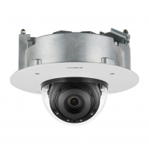 Hanwha Wisenet X Plus 5MP IR Flush Dome WDR 3.9-9.4mm