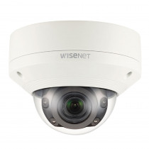 Hanwha Wisenet X 5MP Ext IR Dome WDR IK10 IP67 NEMA 4X 3.9-9.4mm