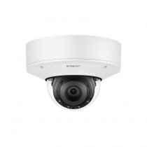 Hanwha Wisenet P 4K AI Vandal Dome Camera, 30fps, WDR, IR, IP67, 4.5-10mm