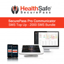 HealthSafe SecurePass Communicator SMS Top Up - 2000 SMS Bundle