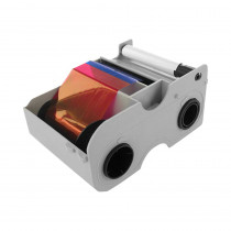 HID Fargo DTC4250e EZ-YMCKOK Cartridge with Cleaning Roller