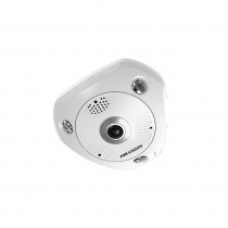 Hikvision 6-Series DS-2CD6362F-ISV 6MP 360 Fisheye Vandalproof Dome Camera with I/O