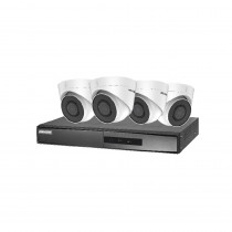 Hikvision 5MP Kit - 4 x 5MP Turrets - 2TB HDD - 4 x network cables
