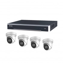 Hikvision 16 Channel 6MP Kit - 4 x 6MP Turret Cameras