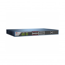 Hikvision DS-3E1318P-E Web Managed 16 Port PoE Switch