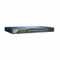 Hikvision DS-3E1326P-E Web Managed 24 Port PoE Switch