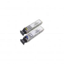 Hikvision Singlemode SFP Transceiver Set - 20km Max