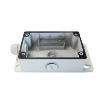 Hikvision DS-1273J-B Junction Box - Front Angle