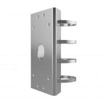 Hikvision DS-1275ZJ-Y Pole Mount Adaptor - Stainless Steel