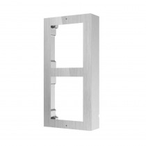 Hikvision DS-KD-ACW2/S Surface Mount Two Module Frame-SS