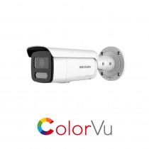Hikvision DS-2CD2T47G2-LSU/SL ColorVu 4MP Mic 4mm IP66 Bullet