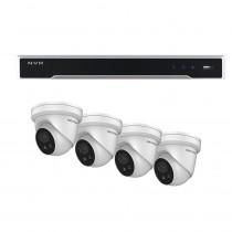 Hikvision 8 Channel kit with 4 AcuSense Strobe Speaker Turrets