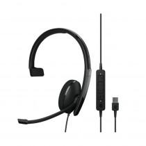 EPOS | Sennheiser ADAPT 130 USB II Monaural Headset - UC