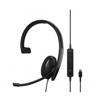 EPOS | Sennheiser ADAPT 130 USB-C II Monaural Headset - UC
