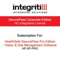 Inner Range Integriti SecurePass Pro HLI Integration Licence