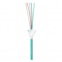 Legrand Fibre Cable - OM4 6F Tight Buffer - Indoor/Outdoor - Multimode - Aqua