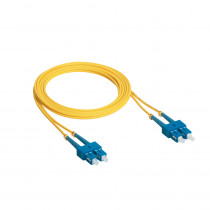 Legrand Fibre Optic Patch Cord - OS1 Single Mode - SC/SC Duplex - 2m