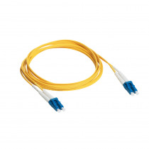 Legrand Fibre Optic Patch Cord - SC/LC Duplex - 9/125UM - Singlemode - Yellow - 0.5m