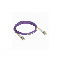Legrand Fibre Optic Patch Cord - OM3 - SC/LC Duplex - 50/125MU - Multimode - Purple - 3m