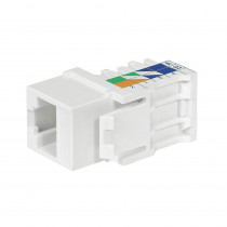 Legrand Keystone - RJ45 - Cat5e - UTP - 110 Type - White