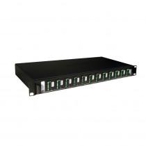Legrand LCS3 Fibre Sliding Drawer 12SC/APC Duplex SM 1U