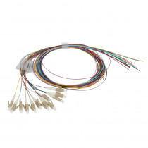 Legrand Fibre Optic Pigtail - OM4 - LC - 50/125MU - Multimode - 1m - Kit of 12
