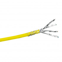 Legrand Cat6a Cable 4 Pair - F/UTP - LSZH Yellow - 500Mhz