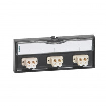 Legrand Fibre Optic Unit - 6F - LC - Singlemode