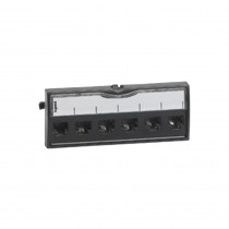 Legrand Connector 6W - RJ45 - Cat6a STP with 6W Face Plate LCS2
