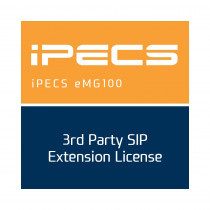 Ericsson-LG iPECS eMG100 3rd Party SIP Extension License