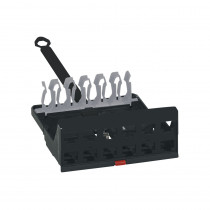 Legrand LCS3 Cassette 12W Empty for Patch Panel