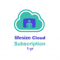 Lifesize Cloud - Host Enterprise (1-year) - per user, min of 50 users