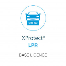 Milestone XP LPR - Base Licence