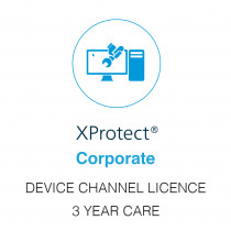 Milestone XProtect Corporate Device Licence - 3 Year Care Plus