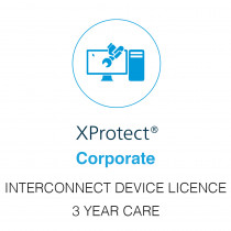 Milestone XProtect Corporate Interconnect Camera Licence - 3 Year Care Plus