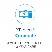 Milestone XProtect Corporate Device License - 3 Year Care Plus