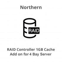 Northern RAID Controller 1GB cache - add on for 4 Bay Serve