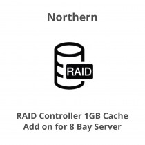 Northern RAID Controller 1GB cache - add on for 8 Bay Server