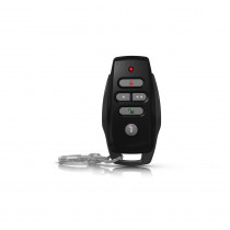 Paradox - REM25 - Black - 5 Button 2 Way Remote Control - front