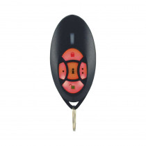 Paradox REM2 2 Way 5 Button Remote with Backlit Buttons