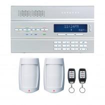 Paradox MG6250 Super Kit - Plug Pack - 2x PMD75 PIRs - 2 x REM15 Remotes