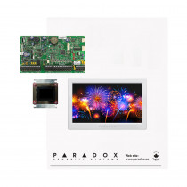 Paradox EVOHD Kit with Small Cabinet & White TM70 Touch
