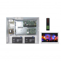 Paradox EVOHD Access Kit with Standard Cabinet, PosiPin Reader, IP150 & White TM70 Touch