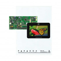 Paradox SP5500 - Small Cabinet - TM50 Touch-Black